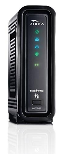 arris n300 surfboard docsis 3 0 cable modem wi fi router