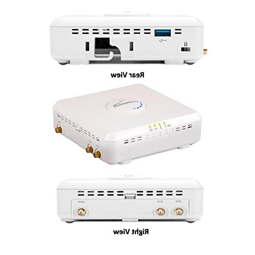 Cradlepoint 10/100/GbE Ethernet port , one is RJ45 Port console access for Management Sprint