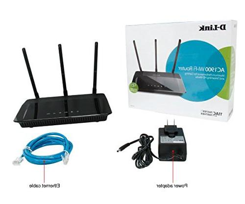 D-Link Wireless AC1900 Band WiFi Router