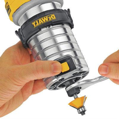 DEWALT 1-1/4 Variable Speed Compact Router New
