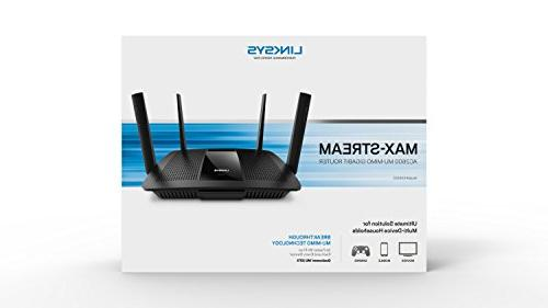 Linksys 4 Dual-Band Gigabit Router with USB 3.0