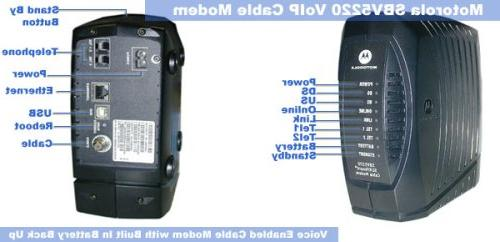 Motorola SURFboard Voice Modem Battery