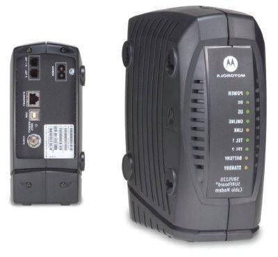 Motorola SURFboard SBV5220 Digital Voice Modem with Integrat