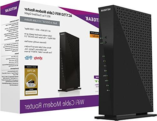 Netgear C6300-100NAS 3.0 WiFi Router Cox, Cablevision