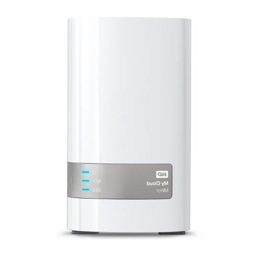 WD 4TB My Cloud Mirror Personal Network Attached Storage - N