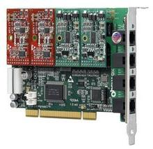 OpenVox A400P01 4 Port Analog PCI Base Card with 1 FXO