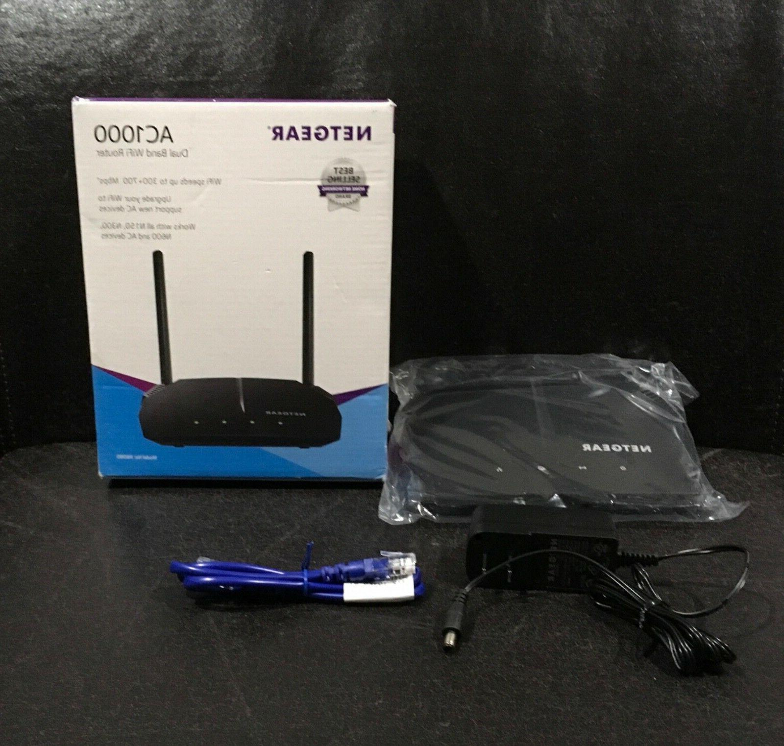 NETGEAR AC1000 Band Smart WiFi Router, Ethernet