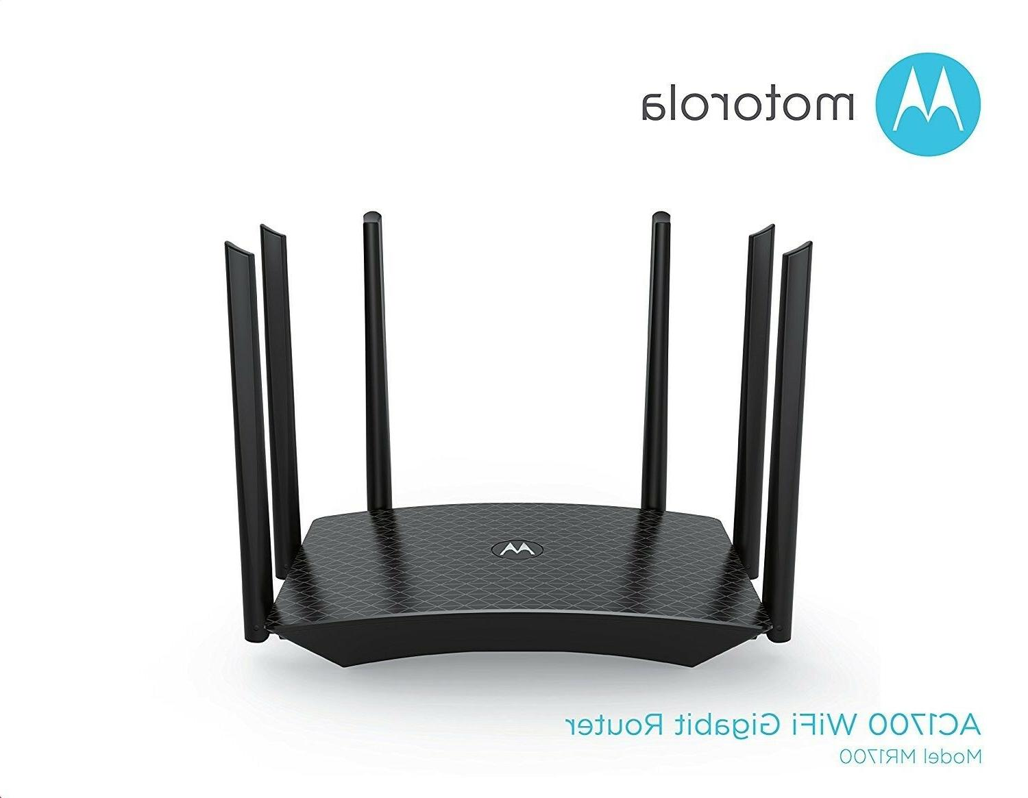 Motorola Gigabit Router with Range, Model