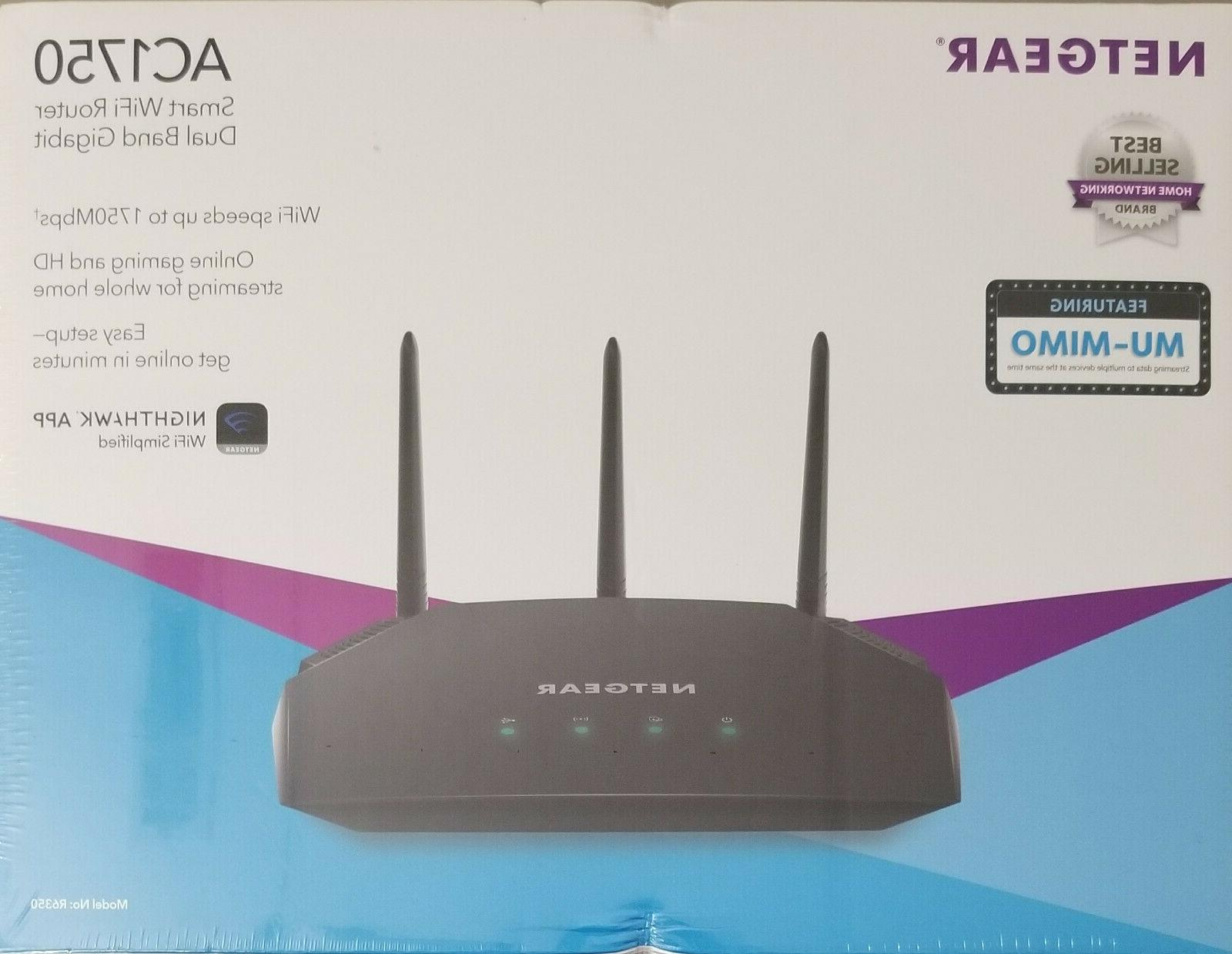 ac1750 dual band smart wifi router 5