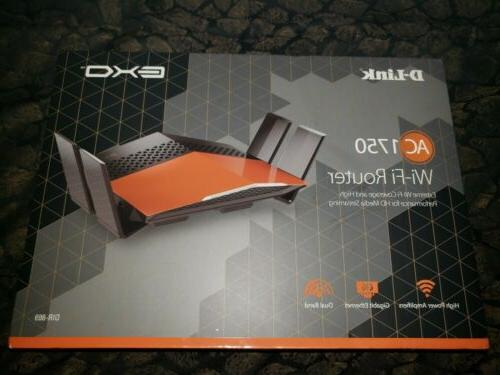 D-Link EXO AC1750 Dual-Band Wi-Fi Performance Wireless Route