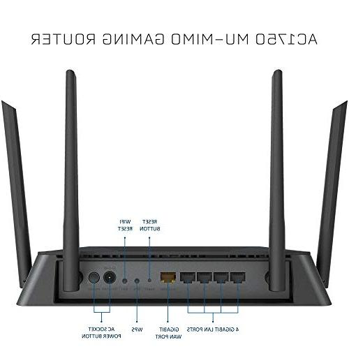 D-Link Wireless – Dual Band – MU-MIMO Dual Core Blazing Gaming and Streaming – Coverage DIR-867-US