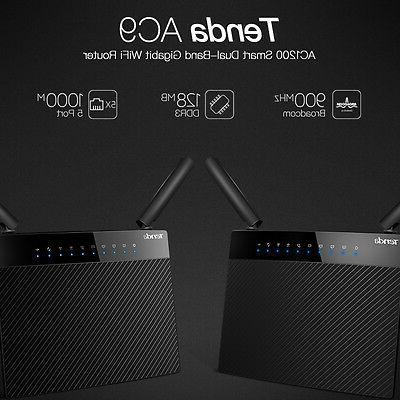 Tenda 802.11ac Gigabit Dual Band 2.4/5GHz WiFi