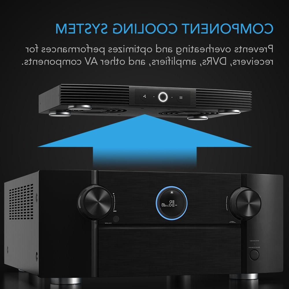 AIRCOM S7, Fan System Receivers, DVR, Components