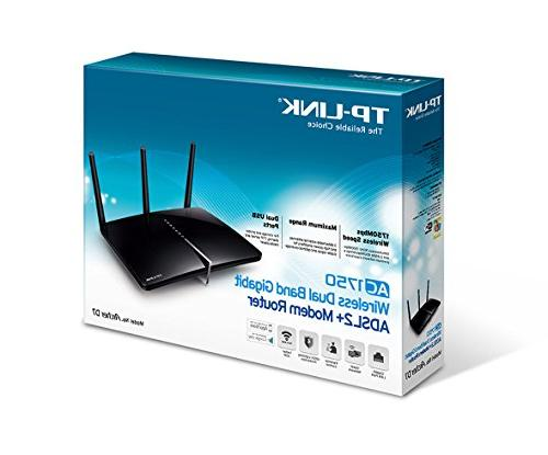 TP-Link D7 Wirles Ac1750 Adsl2 Rtr