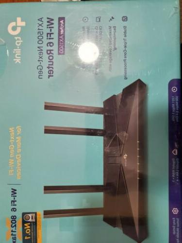 TP-Link AX1500 Archer Wi-Fi 6 Dual-Band Router Up to 1.5 Gbp