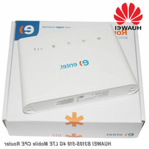 Huawei B310s-518 Wireless WiFi 4G Router 150Mbp Broadband LT