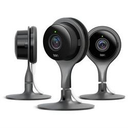 Nest Cam Indoor 3 Pack Black Security Camera