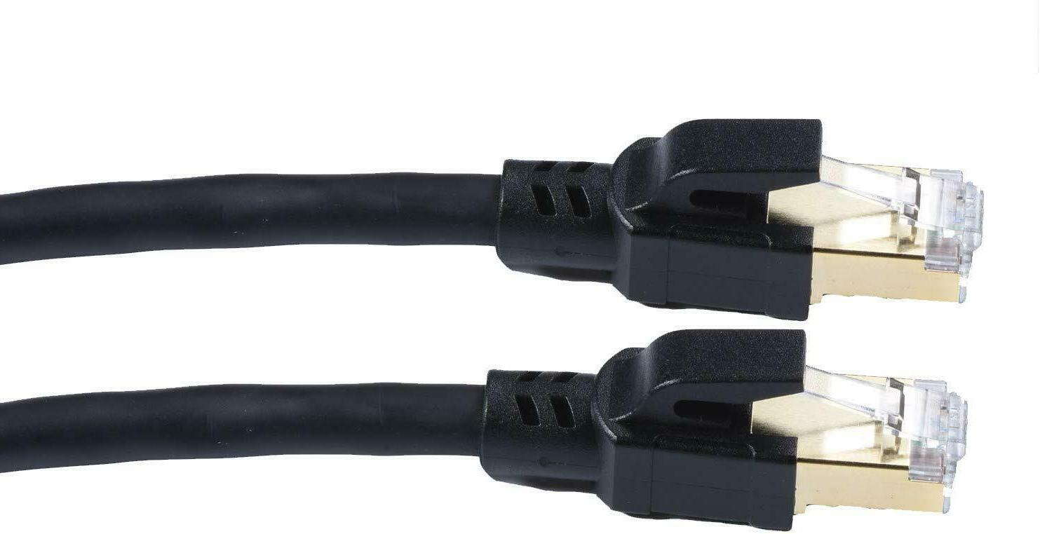 Cat8 Ethernet Cable RJ45 Network for router feet