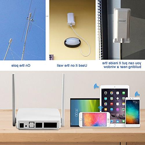 4G Router, Outdoor 3G CPE | Unit with Slot 150Mbps CAT4 Mobile Router for Home/Office, Setup and