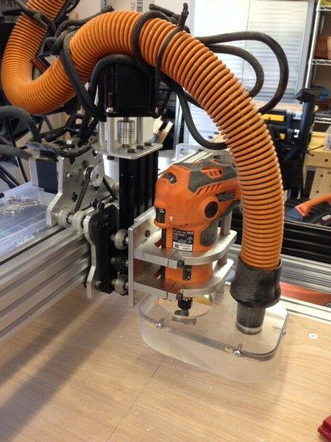 Designed to Router/Spindle Mounting