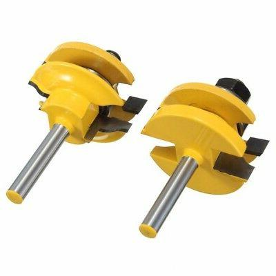 Drillpro Inch Rail Bits Ogee Bits for