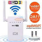 750Mbps Dual Band 2.4/5GHz Wireless Range Extender WiFi Repe
