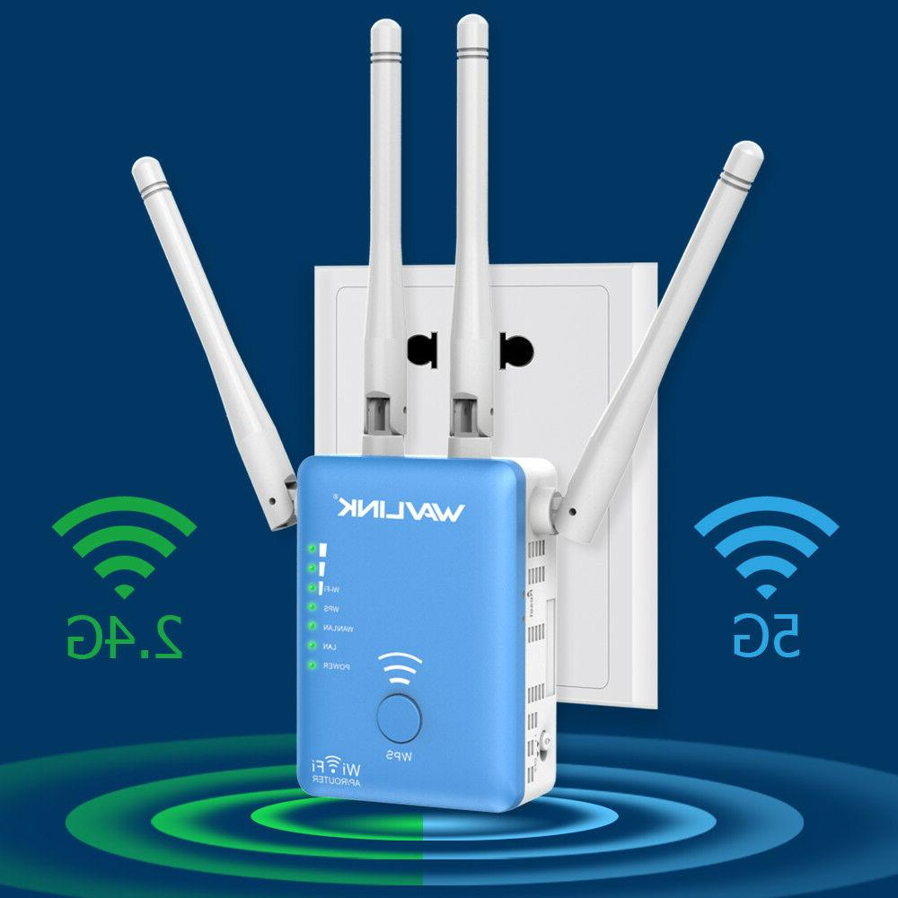dual band ac1200 wifi repeater 2 4g