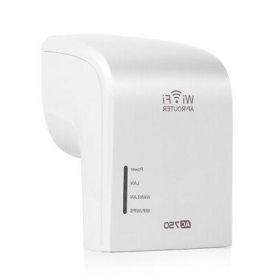 Dual Band WiFi Range Extender Wireless Repeater Router Ether