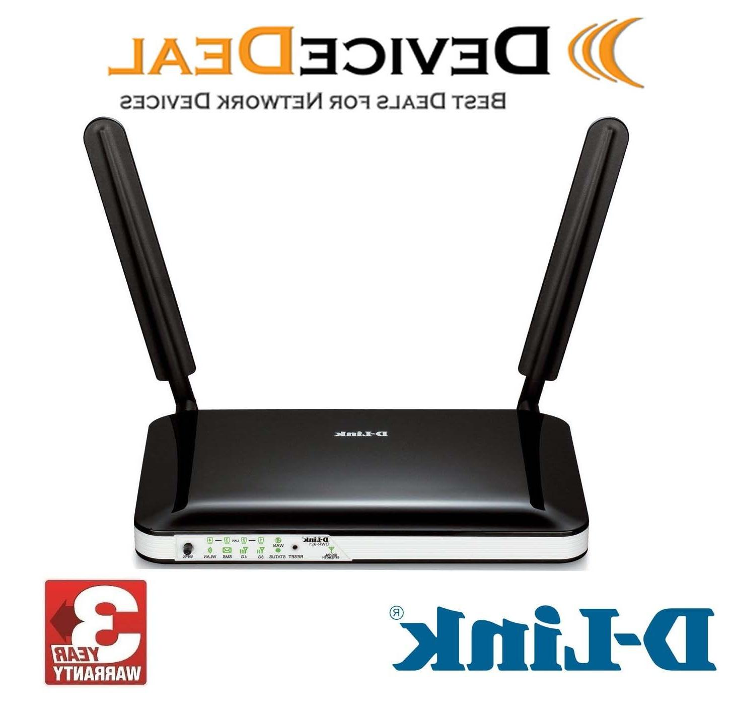 D-link LTE 4G Wireless with size Unlocked