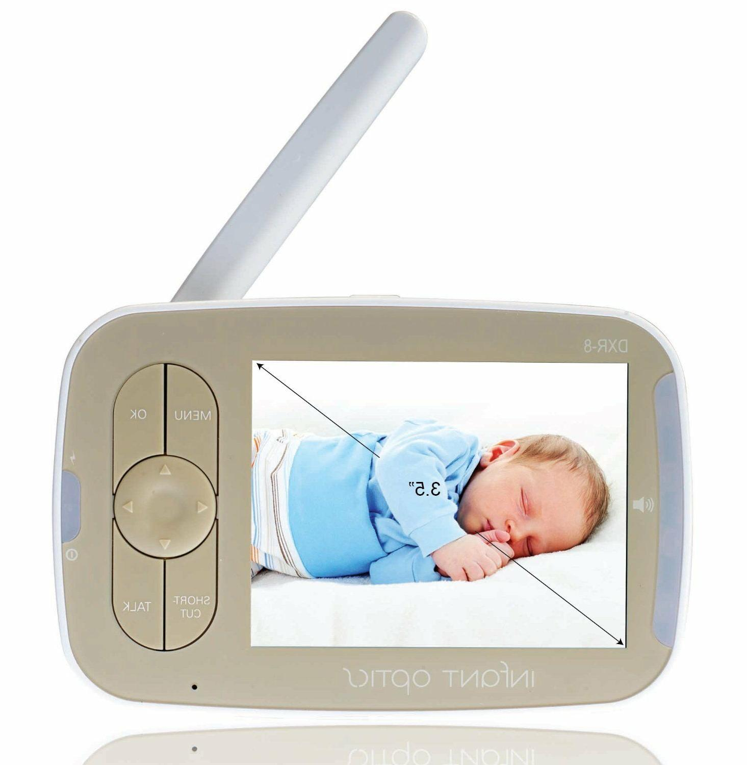 Interchangeable Optical Lens NO TAX!!! Infant Optics DXR-8 Video Baby Monitor