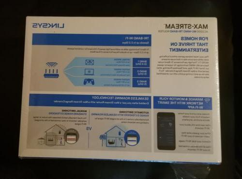 Linksys Tri-Band NEW & SHIPPING