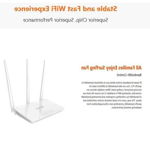 Tenda F3 Wireless WiFi Router Multi Language