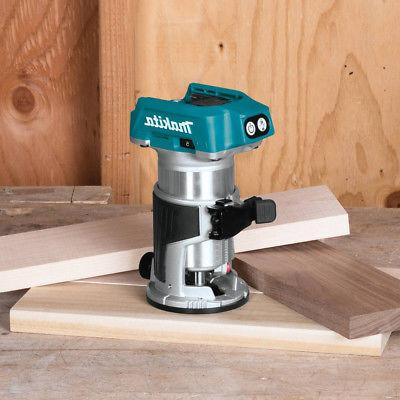 Makita 18V Brushless Compact Router XTR01Z New