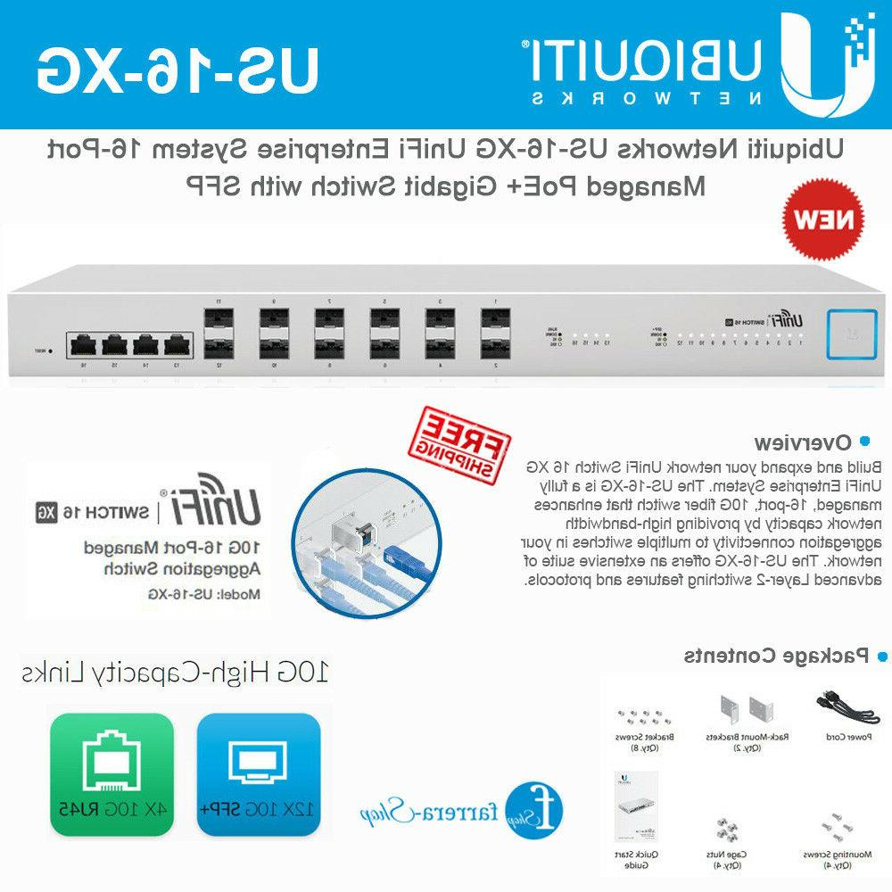 10G 16-Port Managed Aggregation Switch