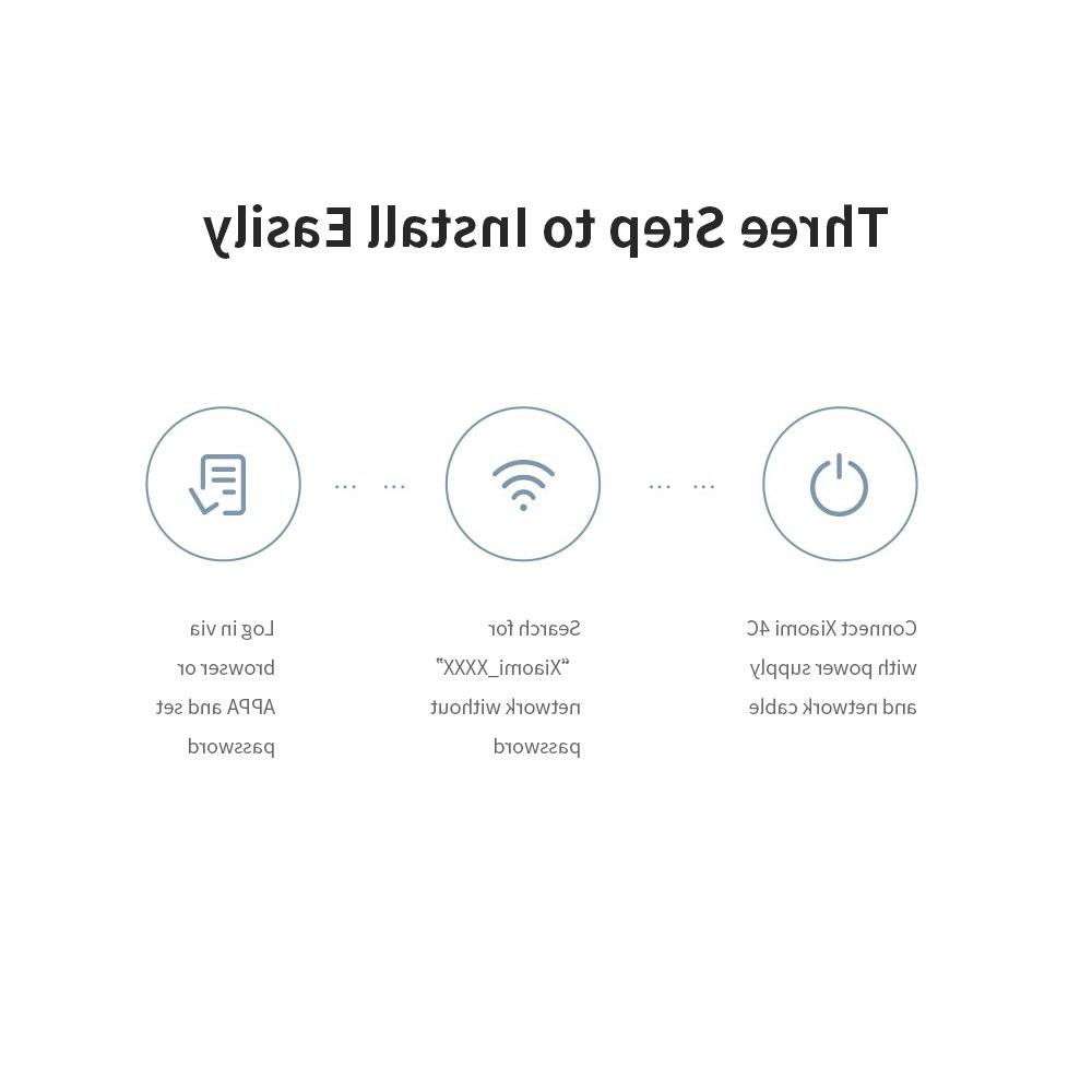 Xiaomi Mi WIFI 4C Control 64 802.11 b/g/<font><b>n</b></font> 2.4G 4 Antennas Repeater for Home