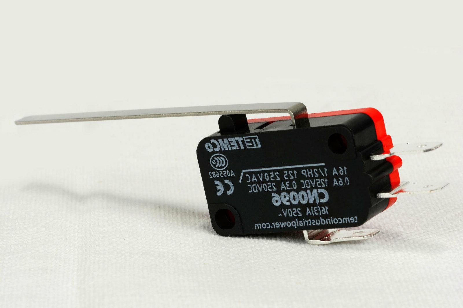 micro limit switch long lever arm spdt