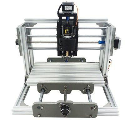 Mini DIY CNC 2417 Mill Router Kit USB Desktop Metal Engraver