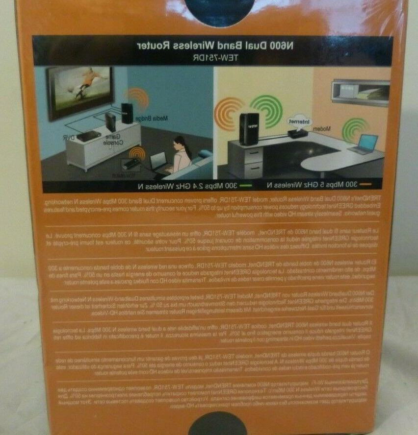 Trendnet Dual Wireless Router NEW Sealed