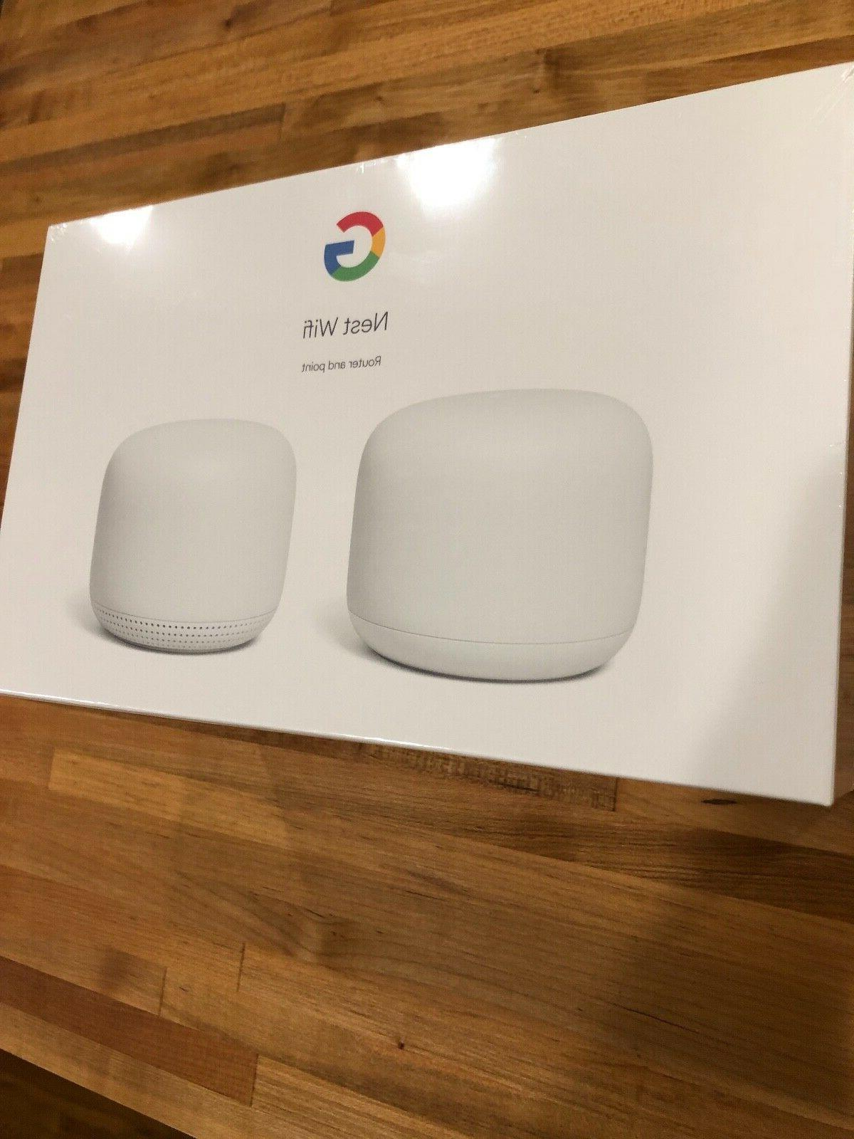 Google Nest Wifi Router Dual + Point