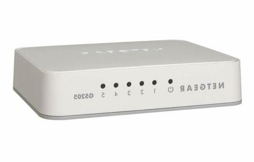 NETGEAR ProSafe 5-Port Gigabit Unmanaged Plus Switch GS105E