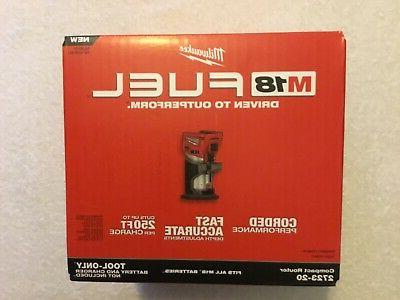 New 2723-20 M18 18V Compact Router NIB
