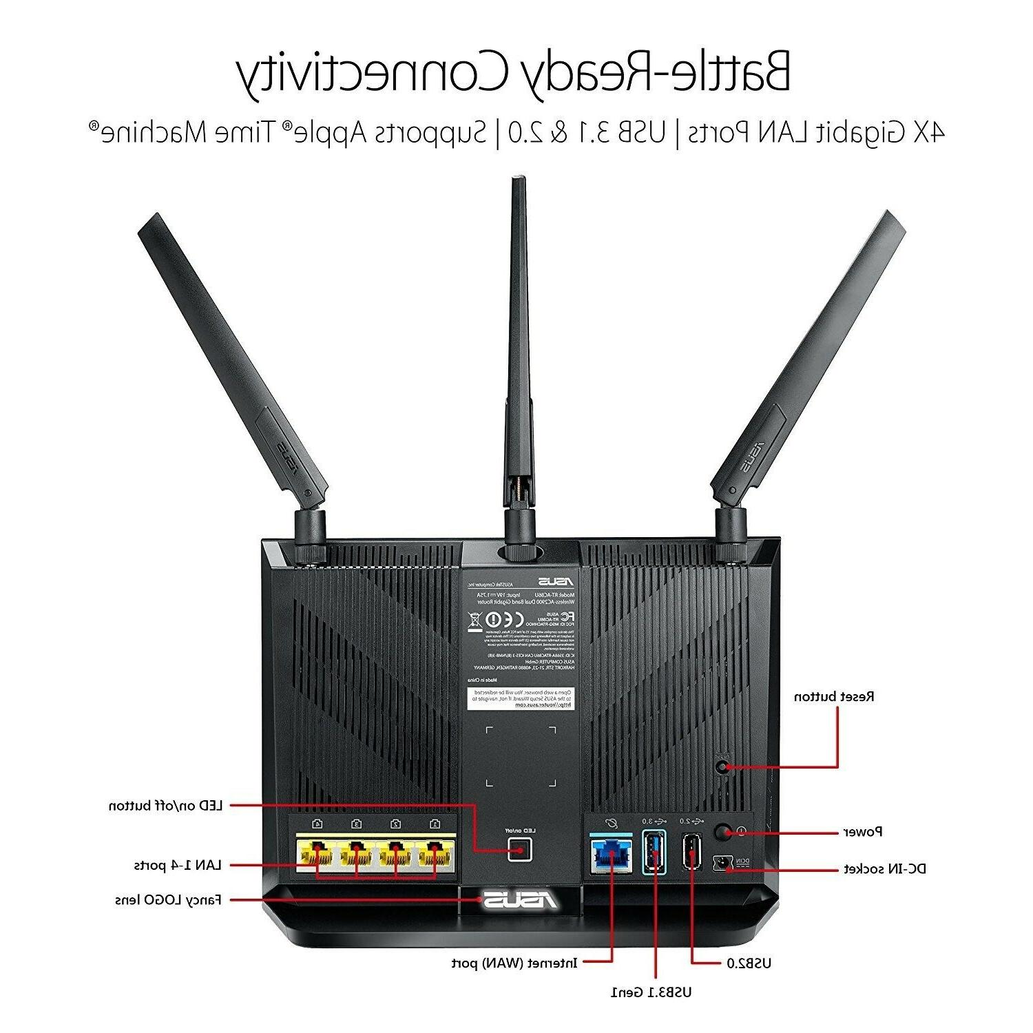 -NEW- Dual-band Gigabit Wireless Router