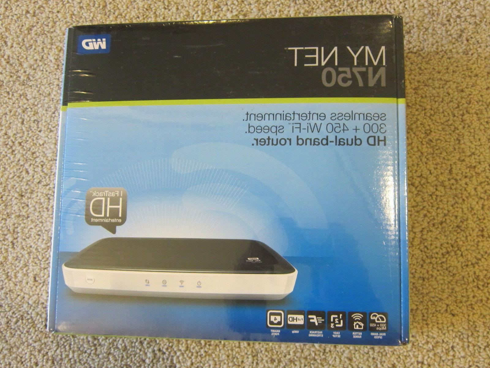 new sealed wd my net n750 hd