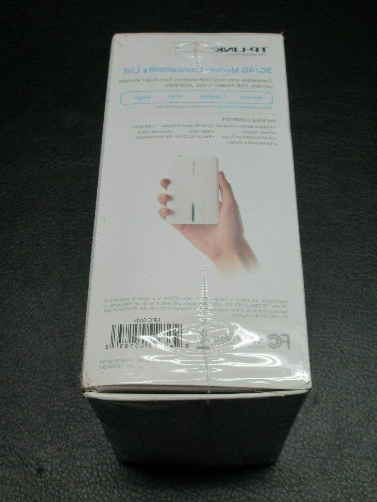 *NEW* TP-LINK 3G/4G Battery Wireless N Router
