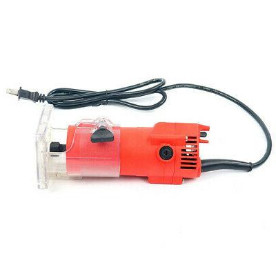 110V Router Edge Woodworking Wood Power Set 30000RPM 1/4''