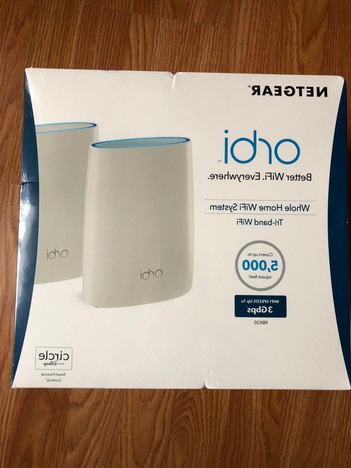 new orbi home ac3000 tri band router