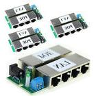 4Pcs POE Module Injector Power Over Ethernet Router 4 LAN po