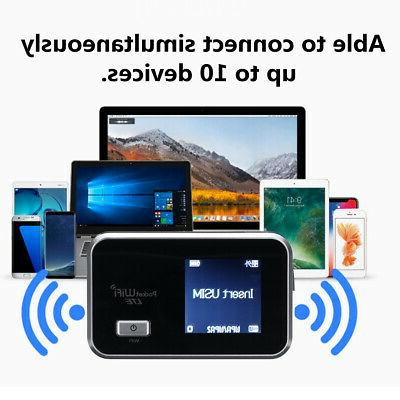 Portable 3G LTE Wifi Wireless Router Unlocked Cat4 Mobile Ho