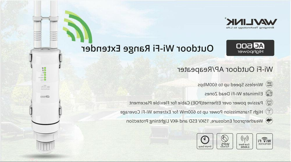 High Outdoor Wireless Repeater&Two Wifi