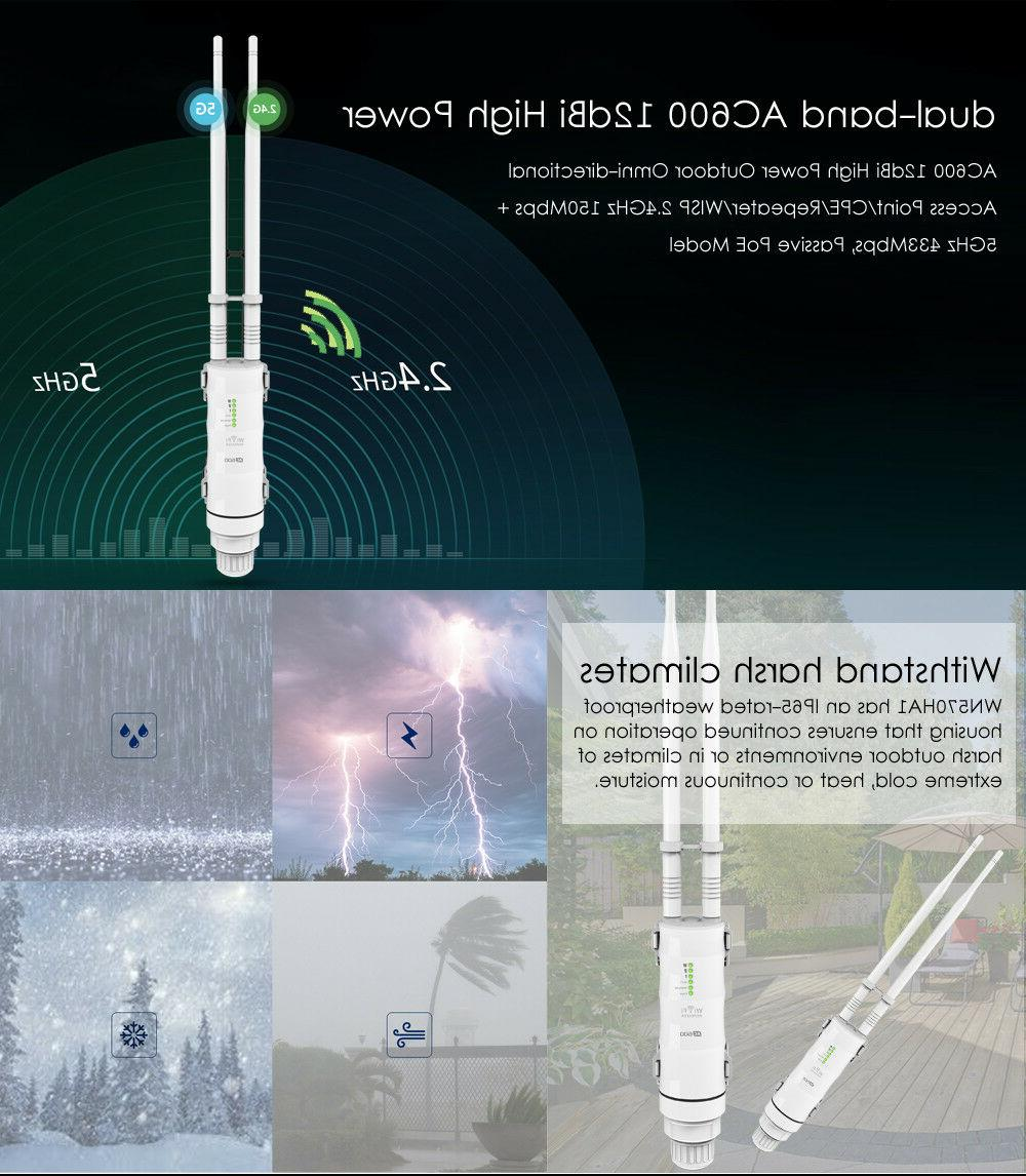 High Power Wireless Antenna for Wifi Signal Booster